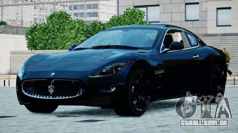 Maserati Granturismo 2012 para GTA 4