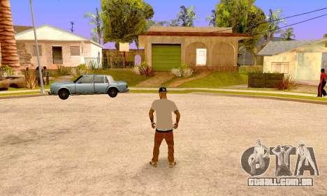Varios Los Aztecas para GTA San Andreas por diante tela