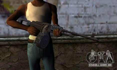 MG from GTA 5 para GTA San Andreas terceira tela