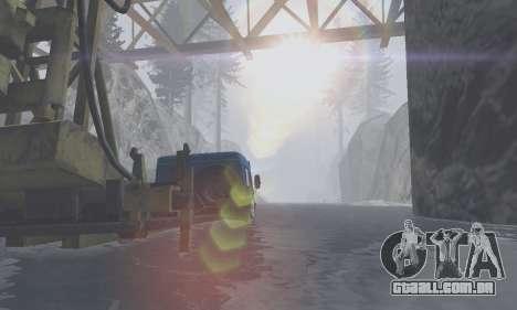 Pista de off-road 4.0 para GTA San Andreas quinto tela