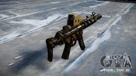 Arma MP5SD EOTHS CS c-alvo para GTA 4 segundo screenshot