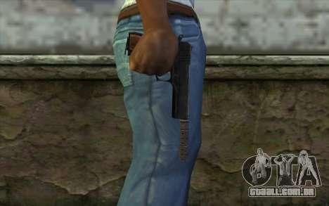Silenced Colt45 para GTA San Andreas terceira tela
