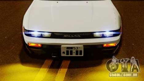 Nissan Silvia S13 1992 IVF para GTA San Andreas traseira esquerda vista