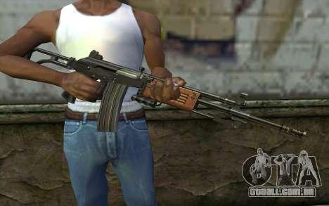 Galil v2 para GTA San Andreas terceira tela