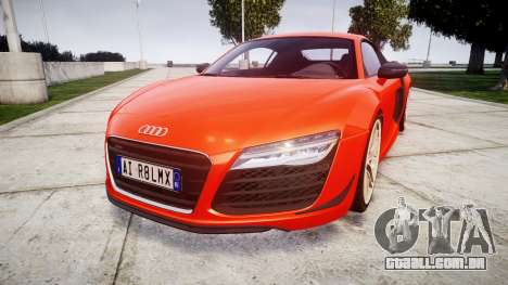 Audi R8 LMX 2015 [EPM] [Update] para GTA 4