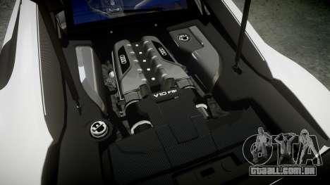 Audi R8 LMX 2015 [EPM] [Update] para GTA 4 vista lateral