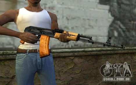 AKC74 Sem Bunda para GTA San Andreas terceira tela