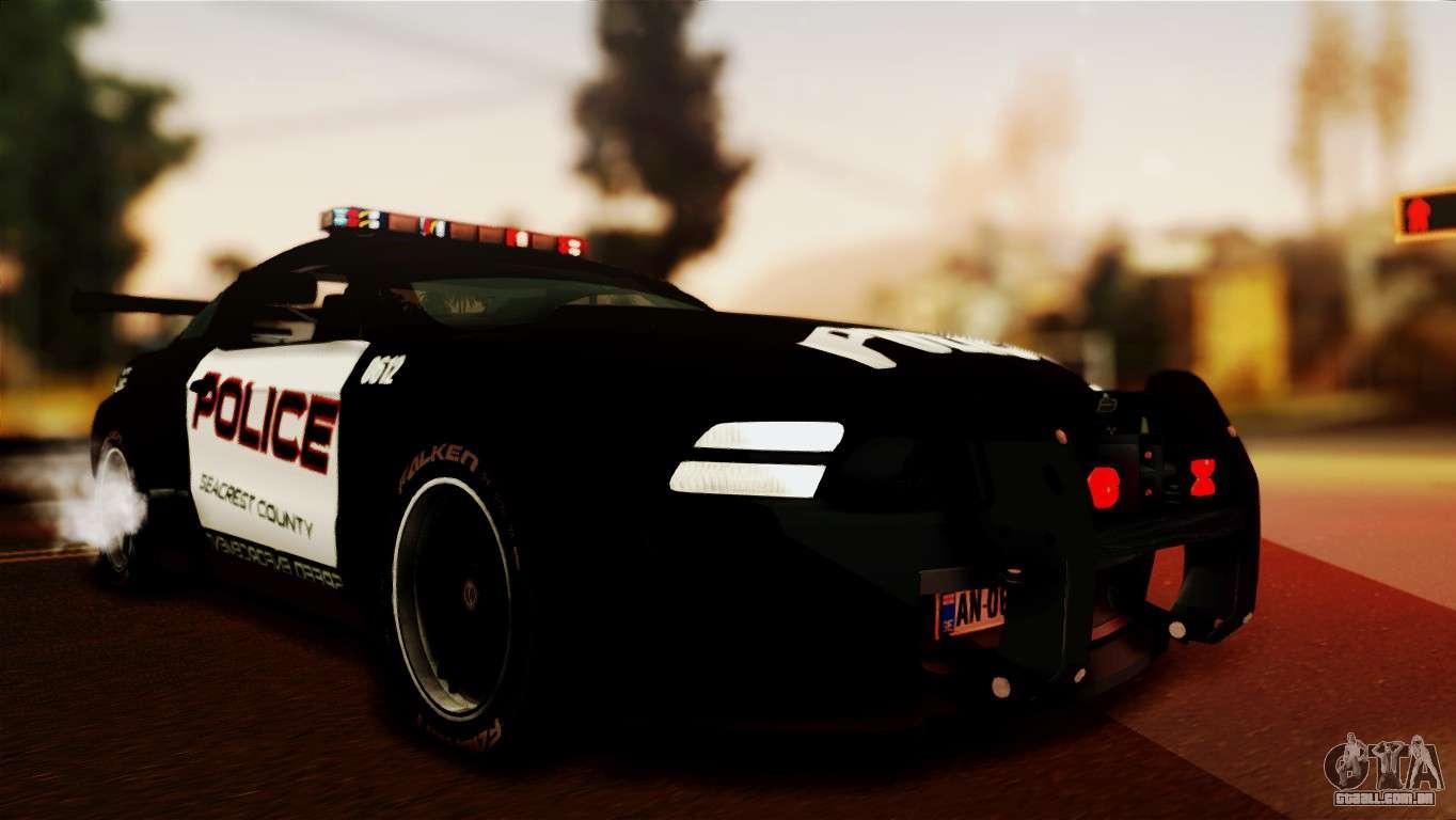 Ford Mustang Gt R Police Para Gta San Andreas
