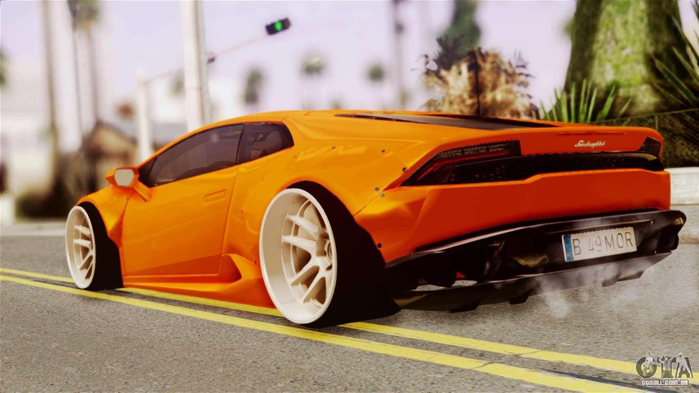 Lamborghini Huracan Lb Para Gta San Andreas