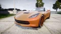 Chevrolet Corvette C7 Stingray 2014 v2.0 TireMi4 para GTA 4