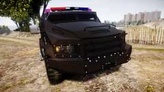 SWAT Van Metro Police