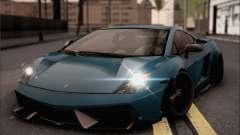 Lamborghini Gallardo Superleggera 2011 купе para GTA San Andreas