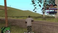 C-HUD Ice Rad Tyga para GTA San Andreas