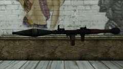 New Rocket Launcher para GTA San Andreas