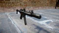 Arma MP5SD DRS FS b-alvo