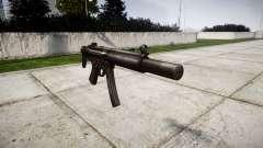Alemão submetralhadora HK MP5SD3