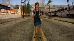 Modern Woman Skin 8 para GTA San Andreas