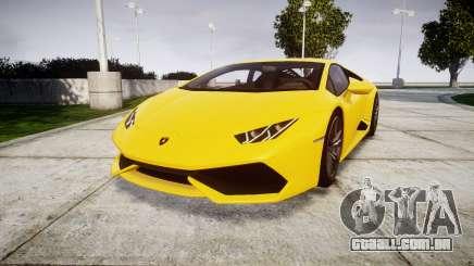 Lamborghini Huracan LP610-4 para GTA 4