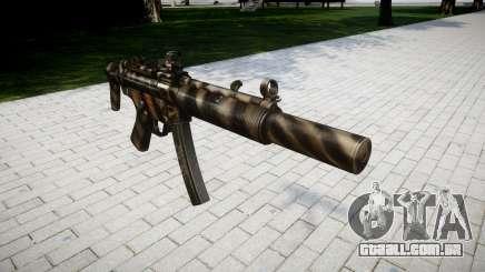 Arma MP5SD DRS CS para GTA 4