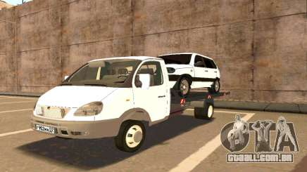 Gazela de Reboque 33023 Beta v1.2 para GTA San Andreas