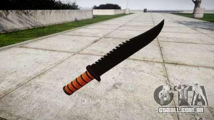 Luta de faca Ka-Bar para GTA 4