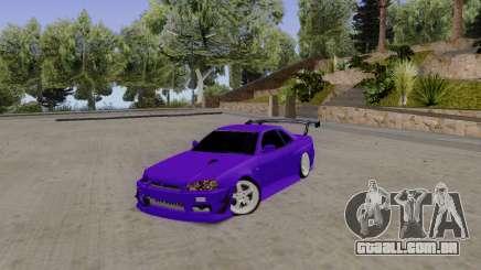 Nissan Skyline GT-R 34 para GTA San Andreas