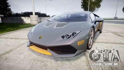 Lamborghini Huracan LP 610-4 2015 Blancpain para GTA 4