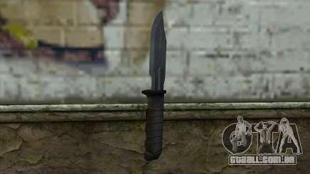 Retextured Knife para GTA San Andreas