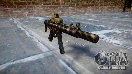 Arma MP5SD EOTHS CS c-alvo para GTA 4