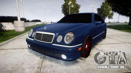 Mercedes-Benz W210 E55 2000 AMG Vossen VVS CVT para GTA 4
