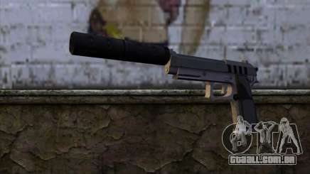 Silenced Pistol from GTA 5 para GTA San Andreas