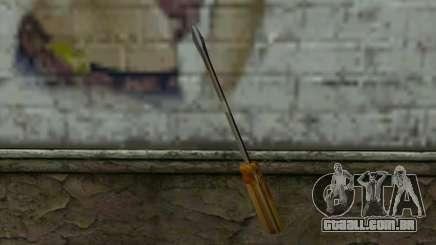 Chave de fenda (GTA Vice City) para GTA San Andreas