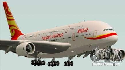 Airbus A380-800 Hainan Airlines para GTA San Andreas