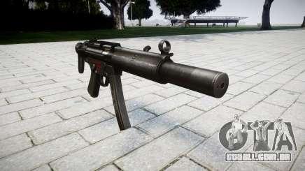 Arma MP5SD RO CS para GTA 4