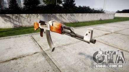 A AK-47 HD para GTA 4