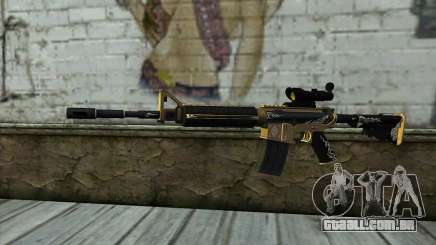 M4A1 from PointBlank para GTA San Andreas