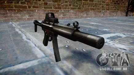 Arma MP5SD EOTHS FS b-alvo para GTA 4