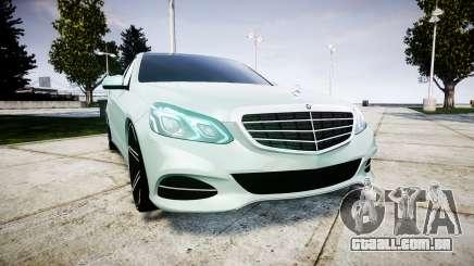 Mercedes-Benz E200 Vossen VVS CV5 para GTA 4