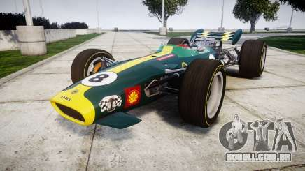 Lotus 49 1967 green para GTA 4