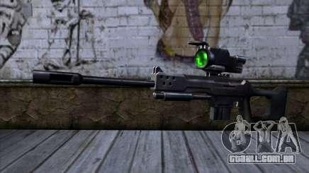 Sniper rifle (C&C Renegade) para GTA San Andreas