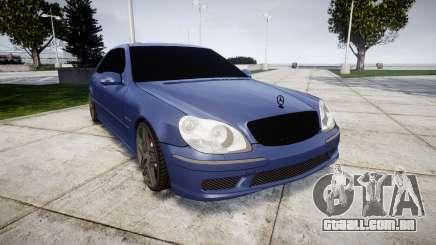 Mercedes-Benz W220 S65 AMG para GTA 4