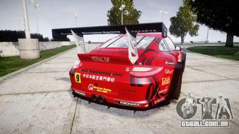 Porsche 911 Super GT 2013 para GTA 4 traseira esquerda vista