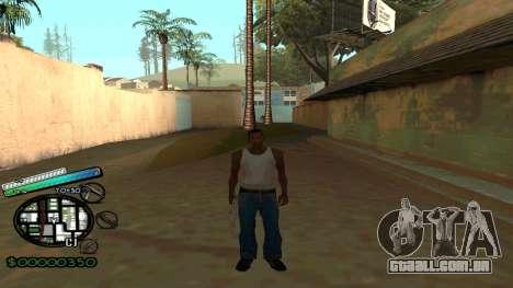 C-HUD New Style para GTA San Andreas segunda tela