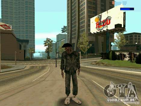 Cкин Benito из Stalker para GTA San Andreas
