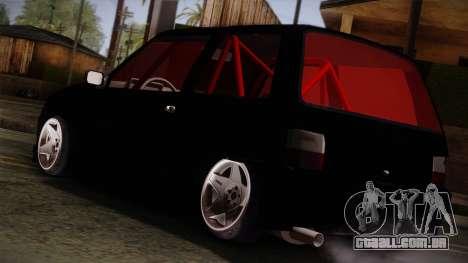 Perodua Kancil L2s v0.2 para GTA San Andreas esquerda vista
