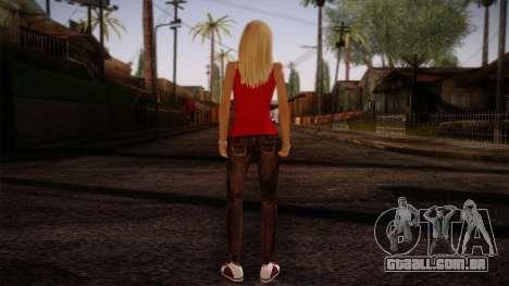 Gedimas Denise Skin HD para GTA San Andreas segunda tela