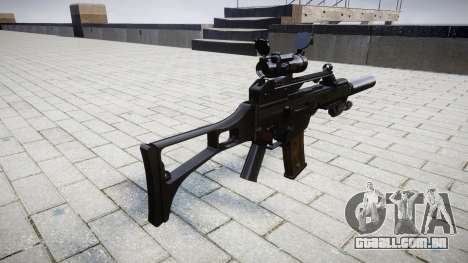 Автомат Heckler & Koch G36 CV de destino para GTA 4 segundo screenshot