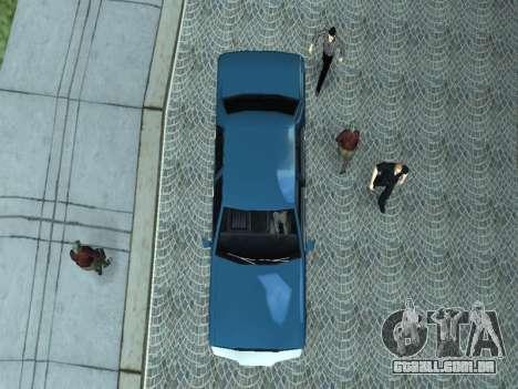 Beta Elegant para GTA San Andreas vista interior