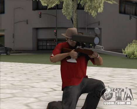 TF2 Sniper Rifle para GTA San Andreas segunda tela