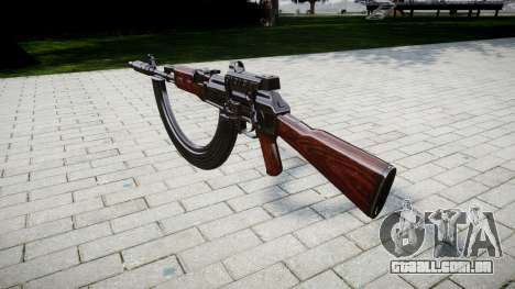 Автомат АК-47 Colimador. Focinho e HICAP targe para GTA 4 segundo screenshot